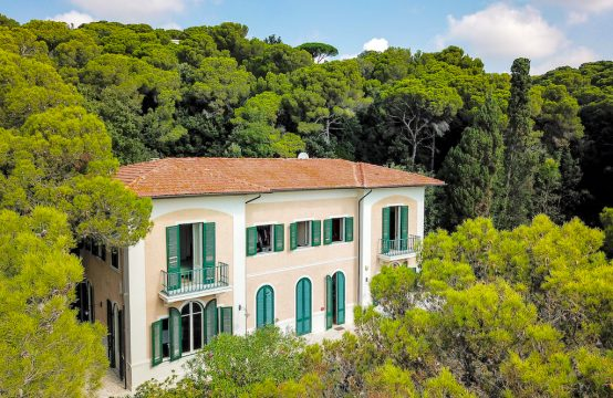 Ref. Qv1 Sea view Villa in Tuscany